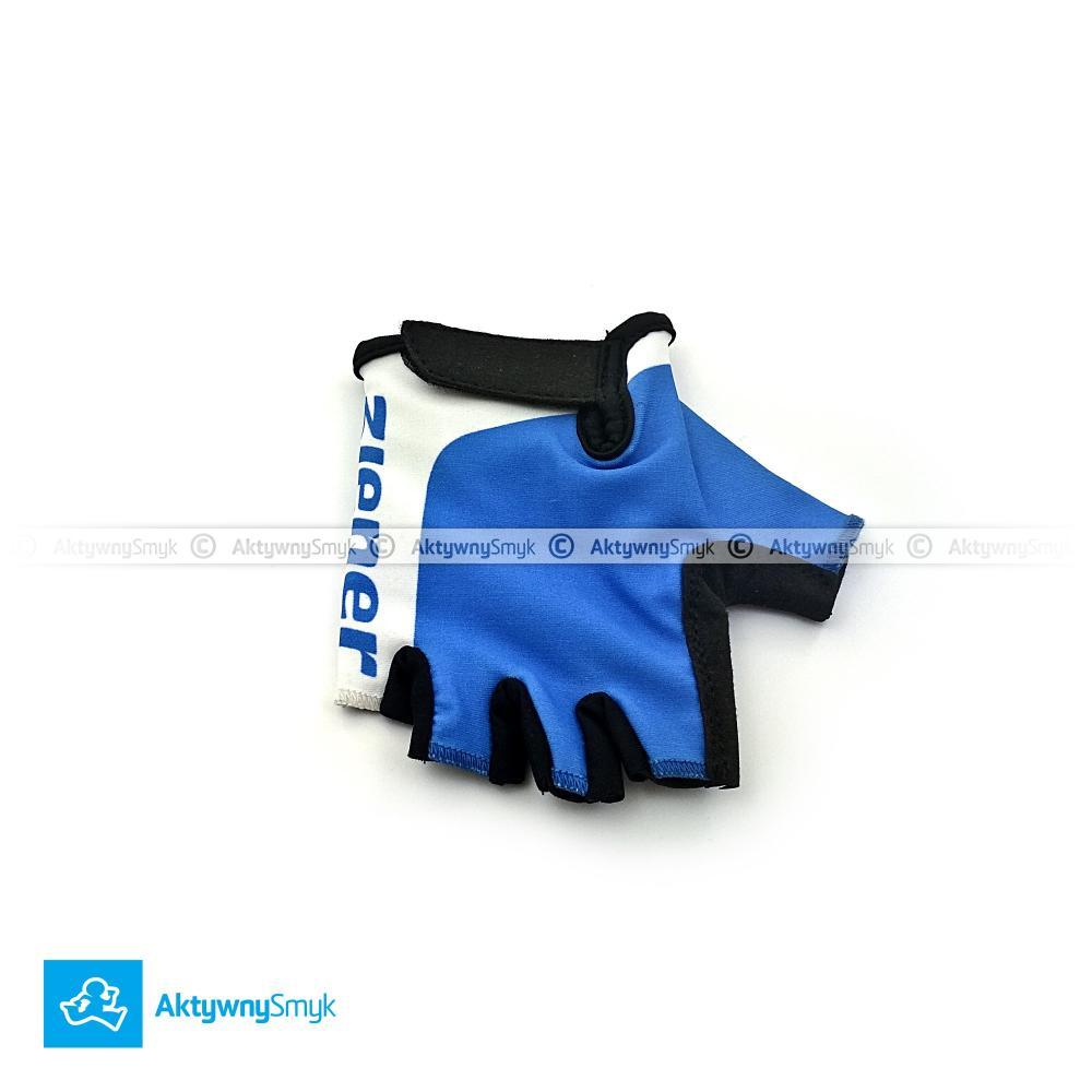 Niebieskie rękawiczki Ziener Corrie Jr.