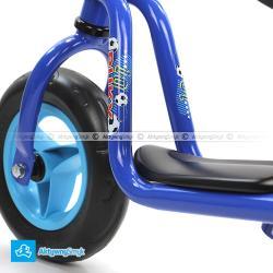 Niebieski rowerek bez pedałów Puky LR M dla dziecka wzrost ponad 85 cm, wiek 1½-2 lata - Sklep AktywnySmyk Warszawa