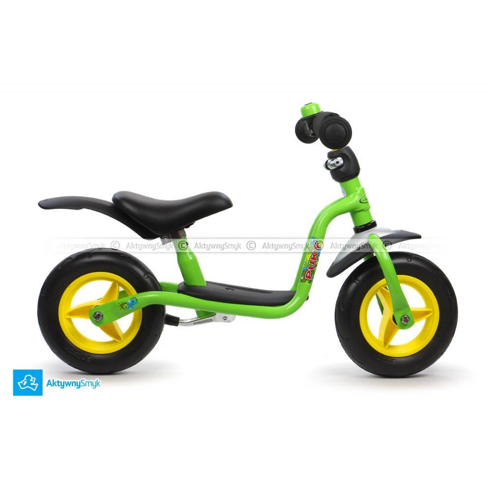Zielony rowerek biegowy Puky LR M Plus dla dziecka wzrost ponad 85 cm, wiek 1½-2 lata - Sklep AktywnySmyk Warszawa