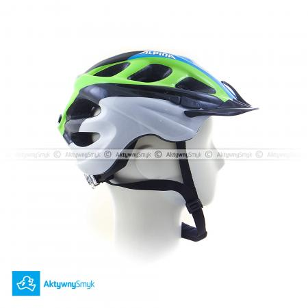 Kask Alpina Rocky black-blue-green