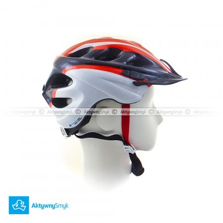 Kask Alpina Rocky neon red-black-white