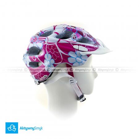 Kask Alpina Rocky Pink-lightblue Flower