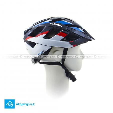 Kask Alpina Panoma Black-Blue-Red