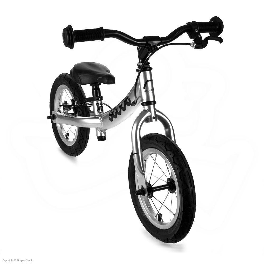 Rowerek biegowy Ridgeback Scoot srebrny