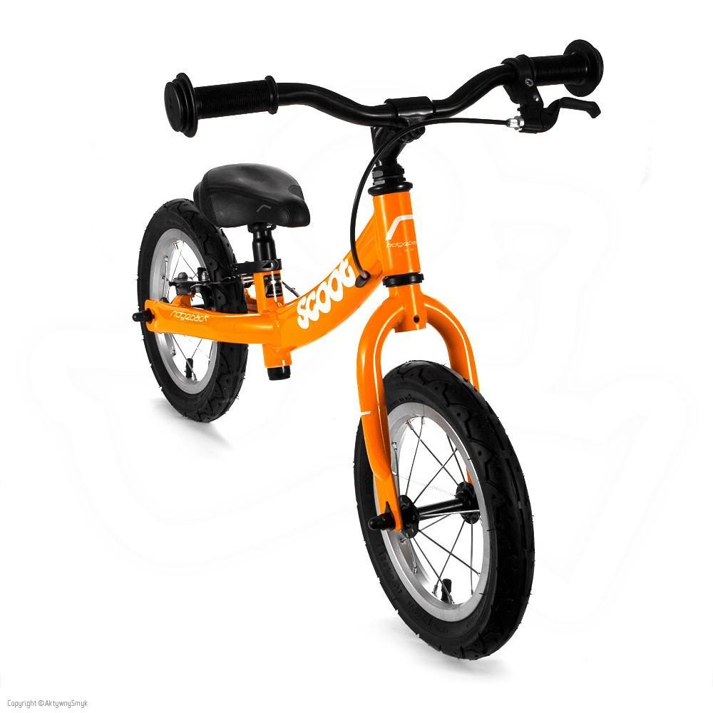 Rowerek biegowy Ridgeback Scoot pomarańczowy