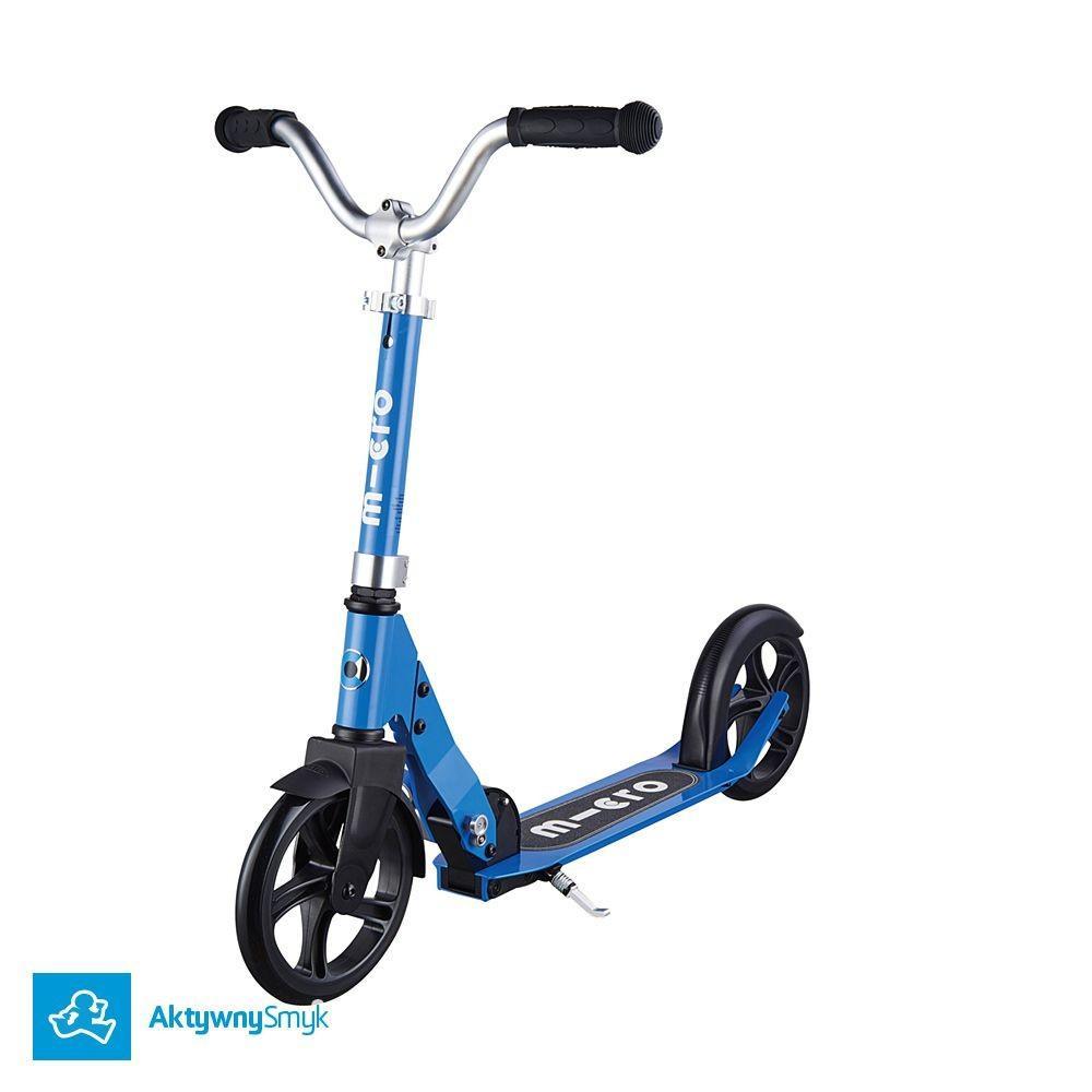 Hulajnoga Micro Cruiser Blue - lżejsza hulajnoga na dużych kołach