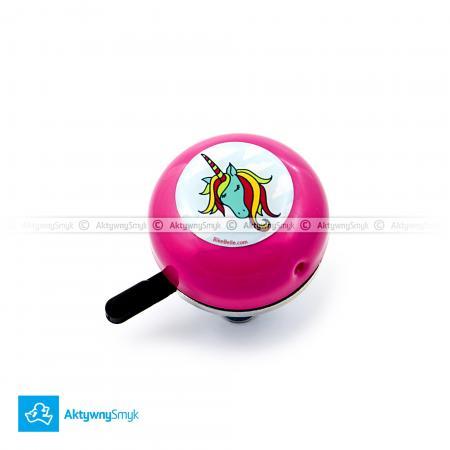 Dzwonek Jednorożec o typowo dzwonkowym dzyńdzynieniu to niezbędny gadżet każdej młodej rowerzystki-fashionistki ;-)