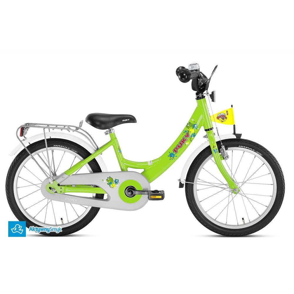 Zielony rower Puky ZL 18 Alu | Sklep AktywnySmyk Warszawa