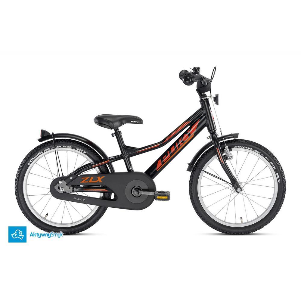 Rower Puky ZLX 18 Alu czarny dla 4,5 latka, koła 18 cali