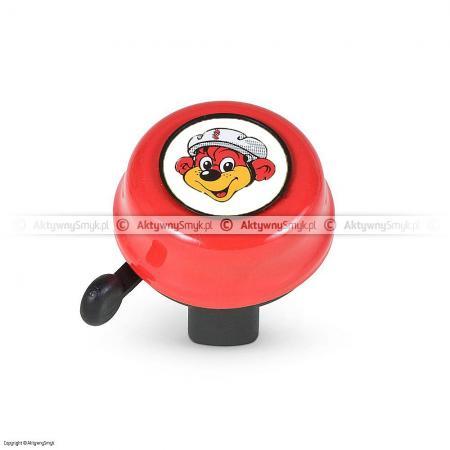 Dzwonek Puky czerwony (średnica kierownicy 22 mm)