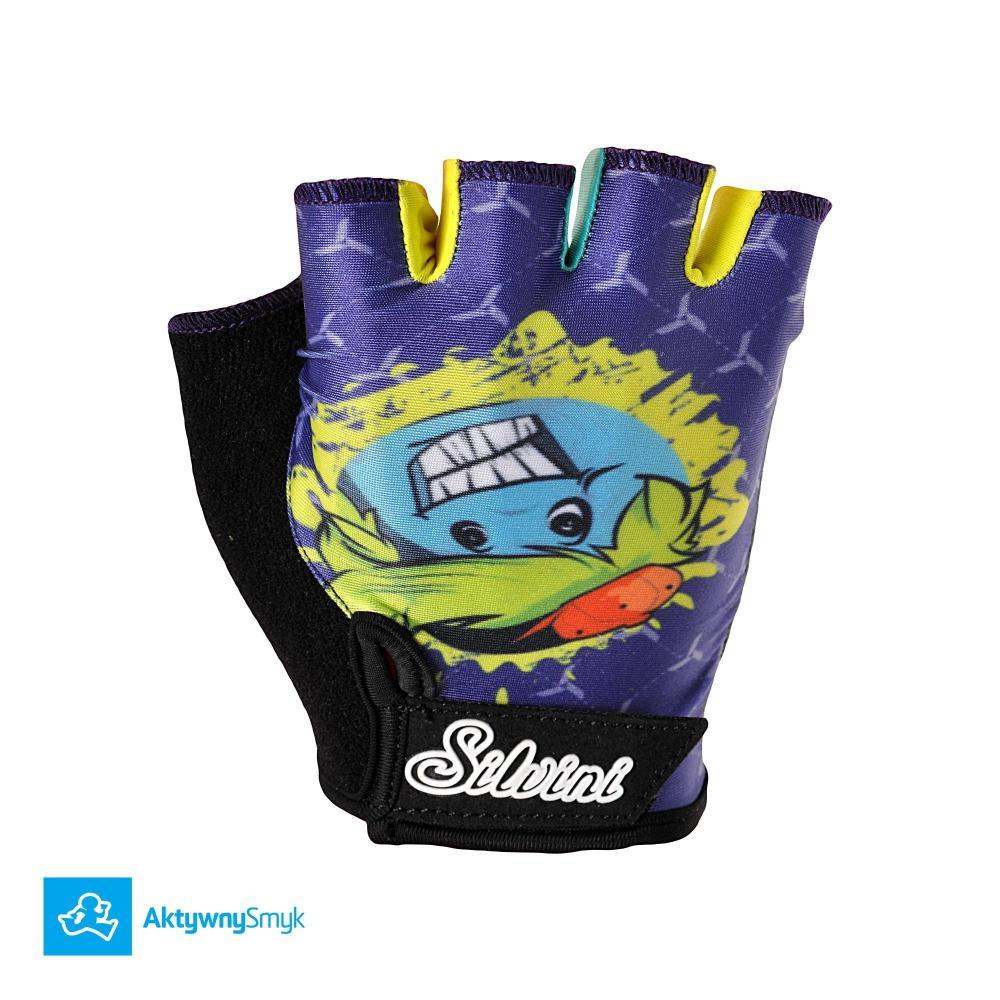 Rękawiczki Silvini Punta navy-lime