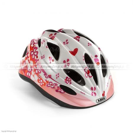 Kask dziecięcy Abus Chilly pearly pink