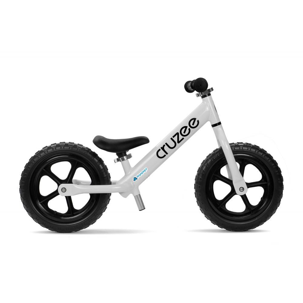 Biały i lekki rowerek biegowy Cruzee 12 sklep AktywnySmyk Warszawa