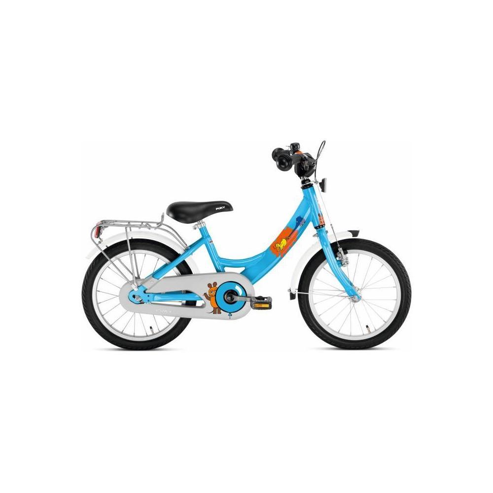 Niebieski rower Puky ZL 16 Alu Die Maus