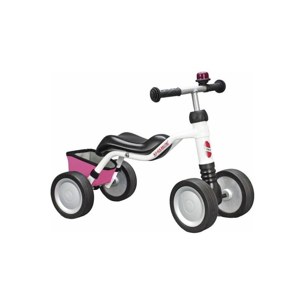 Jeździk Puky Wutsch LE white / pink dla dziecka ok 80 cm / wiek 1½
