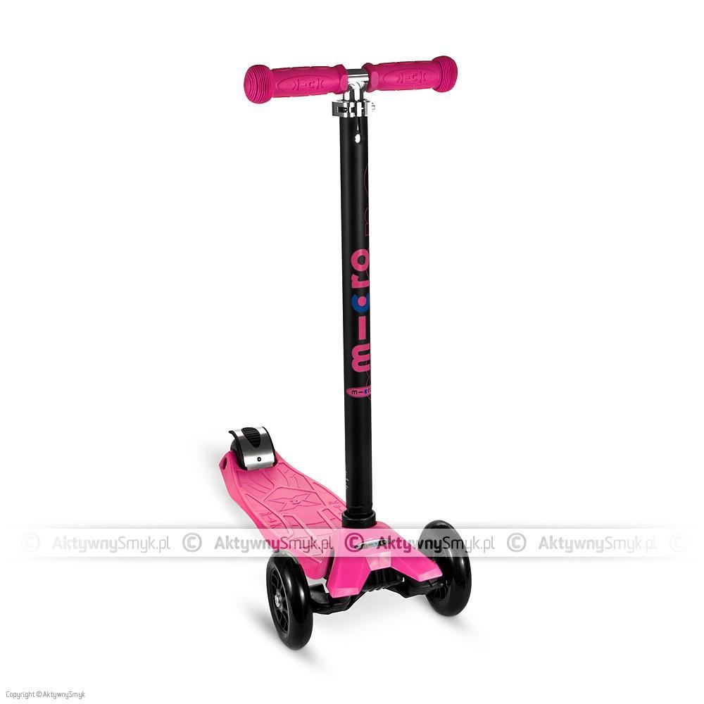 Hulajnoga Maxi Micro T-bar różowa