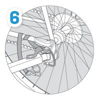 Połączenie przyczepki Burley z rowerem