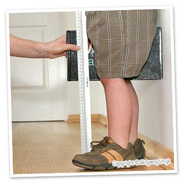 Pomiar długości nóżki