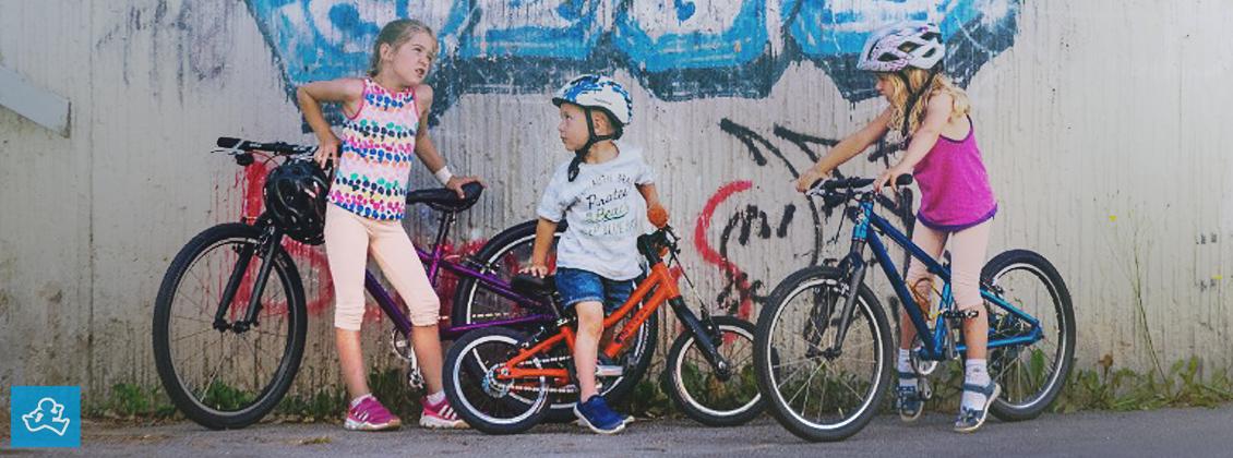 Lekki rowery dla dzieci KUbikes