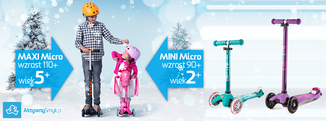 Hulajnoga Mini Micro albo Maxi Micro jako prezent