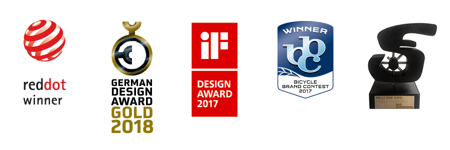 Rower WOOM 3 otrzymał główną nagrodę w kategorii produkt dla dzieci podczas targów Kielce Bike-Expo 2016. W ośmiu kategoriach zgłoszono 120 produktów, które oceniano biorąc pod uwagę m.in. ergonomię, funkcjonalność, użyteczność, wagę, bezpieczeństwo, jakość wykonania... i WOOM 3 zwyciężył!